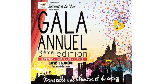 Adrexo, partenaire du gala caritatif « Marseille a de l'humour et du cœur »