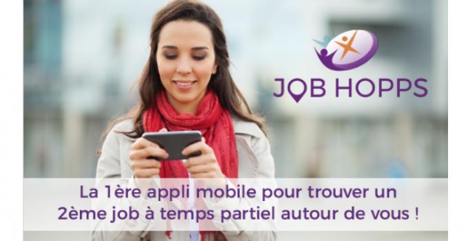 Nouveauté 2018 : découvrez l'application Job Hopps !