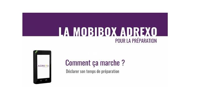 En savoir plus sur la MOBIBOX Adrexo pour la préparation