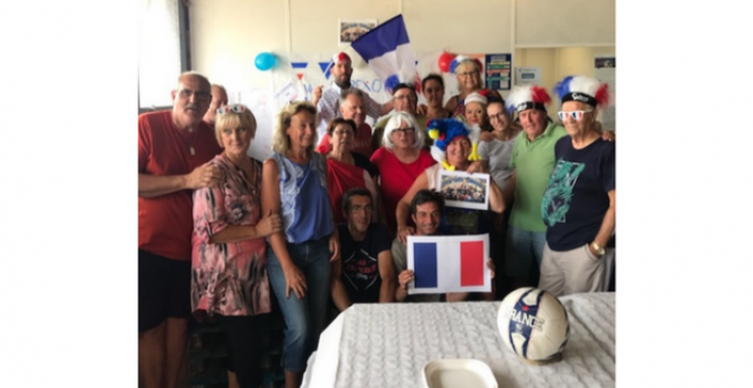 Coupe du monde de Football : l'équipe de Rouen 2 en fête !