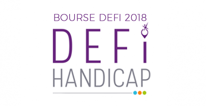 La bourse DEFI Handicap 2018 : comment en bénéficier ?