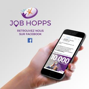 Retrouvez Job HOPPS sur sa nouvelle page Facebook !