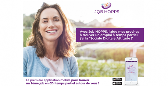 Nouveau sur l'application Job HOPPS : adoptez la Sociale Digitale Attitude !