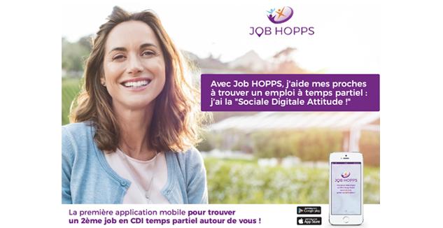 Nouveau sur l'application Job HOPPS : adoptez la Sociale Digitale Attitude !