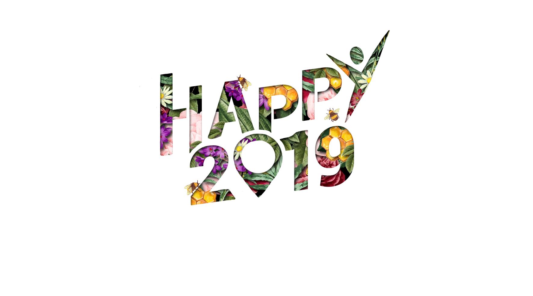 Adrexo vous souhaite une bonne année 2019 !