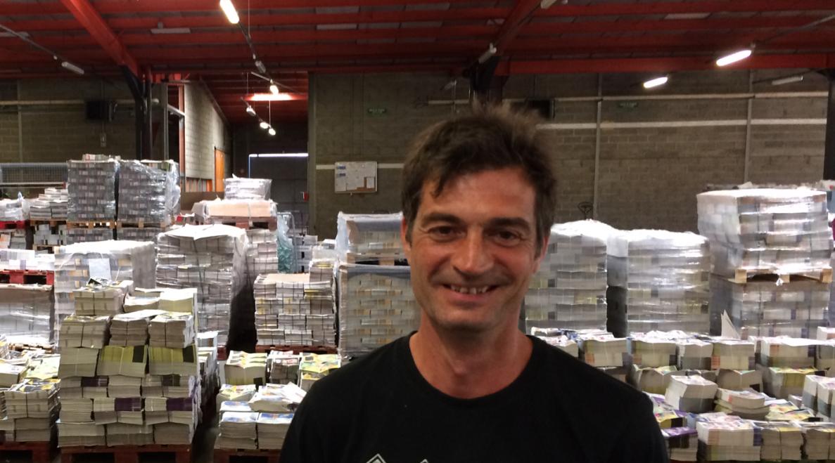 A la rencontre d'Eddy, Distributeur Formateur Adrexo